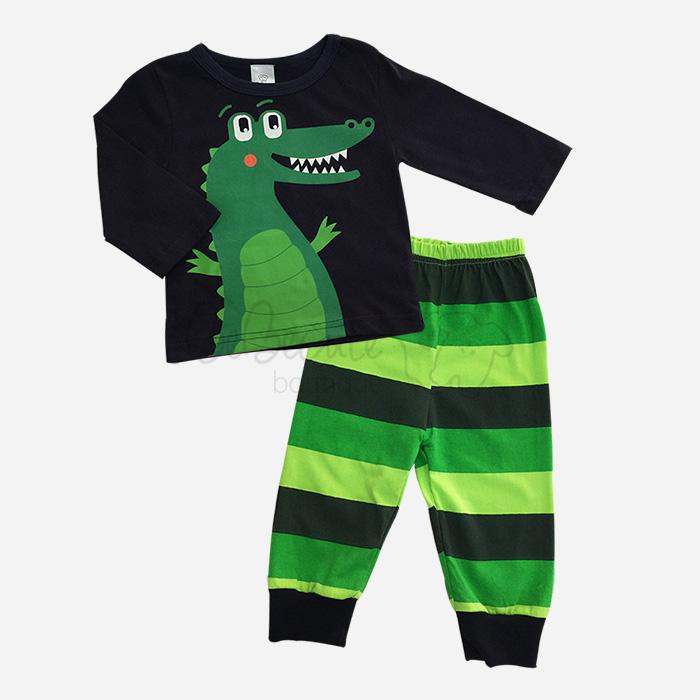 bebecute jumpsuit set crocodile 9688011