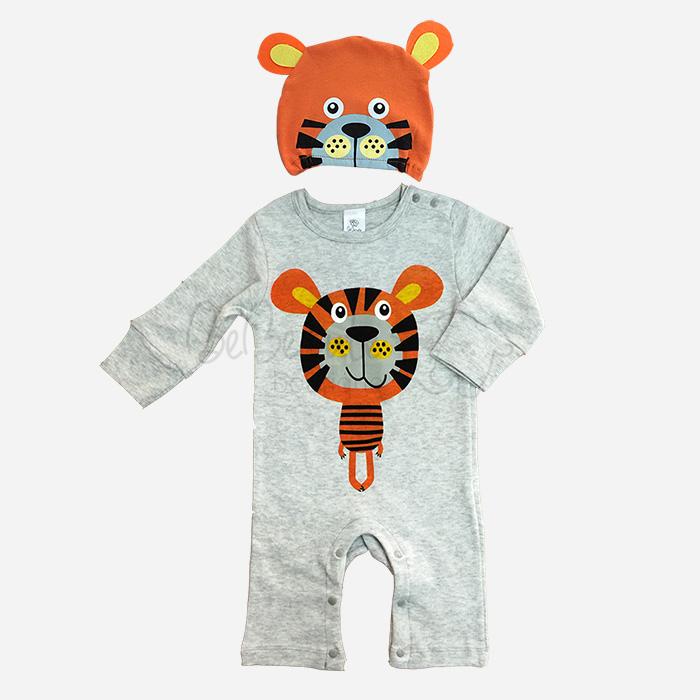 bebecute jumpsuit set tiger 9688005