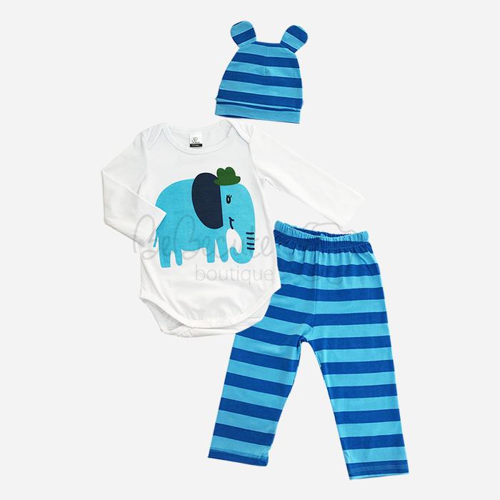 bebecute jumpsuit set elephant 9688008
