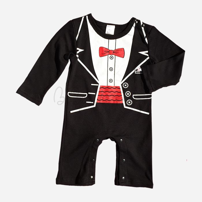 bebecute tuxedo jumpsuit 9699010