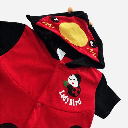 bebecute rompers ladybird 9666050