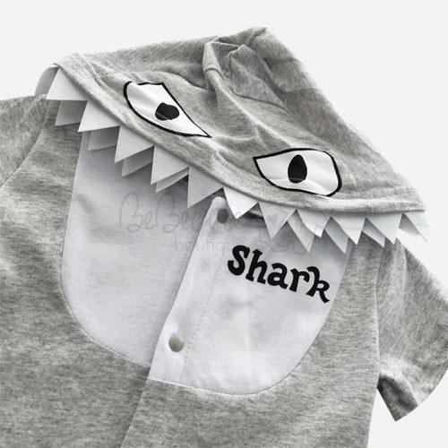 bebecute rompers shark 9666050